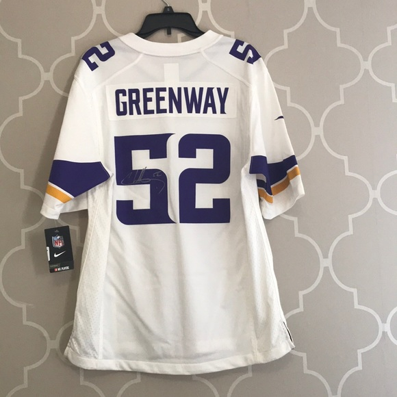 Vikings SIGNED Chad Greenway Jersey